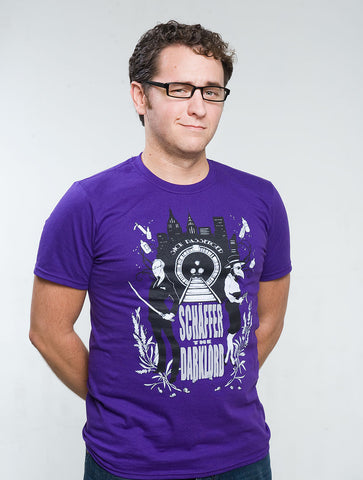 Sick Passenger tee (men's purple)