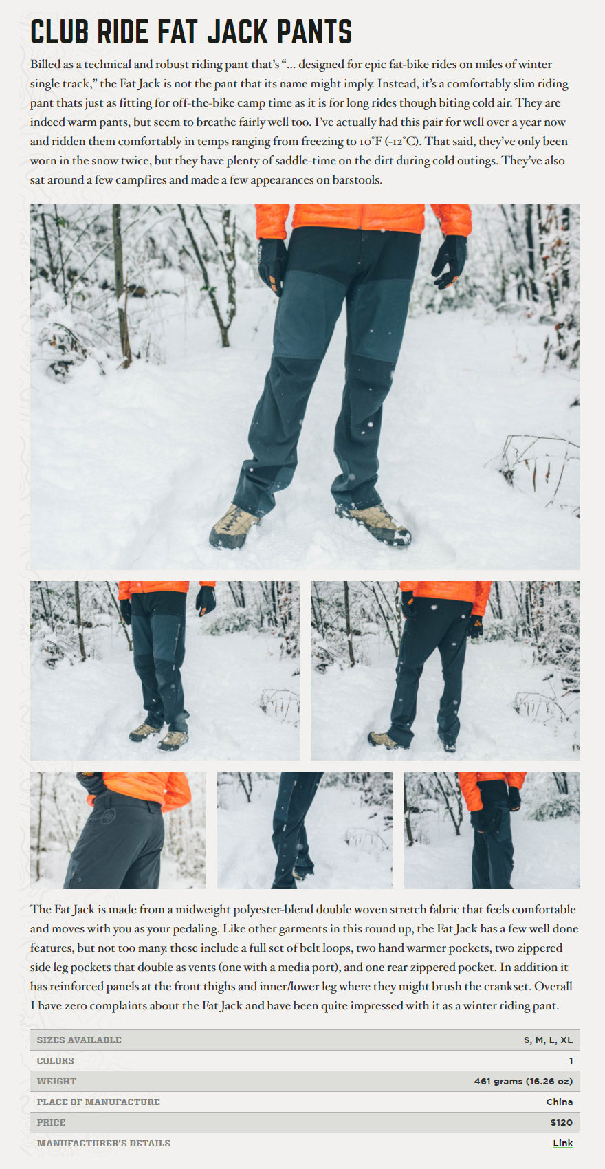 Fat Jack Pant Review