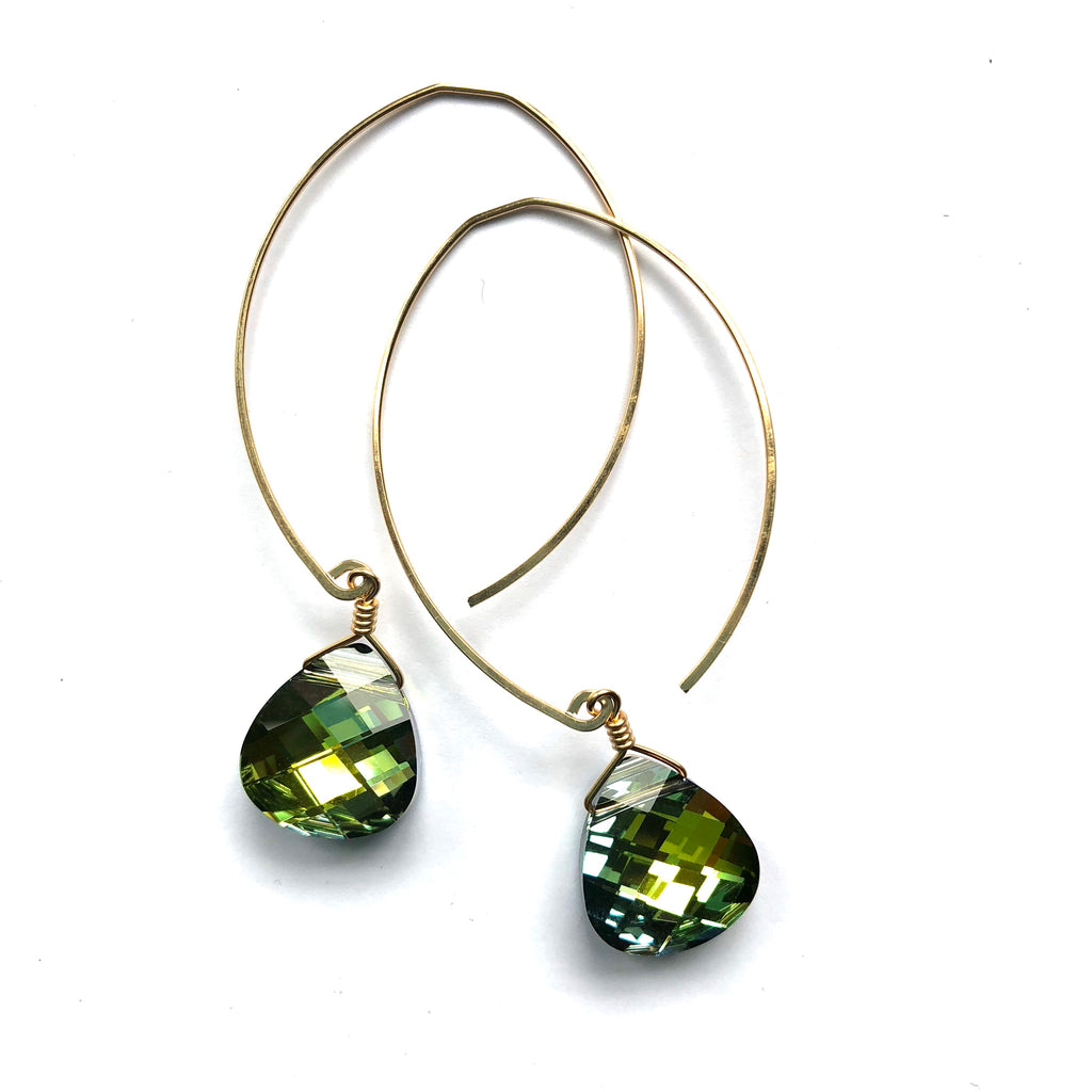 LIMITED EDITION . EARRING . RAINFOREST SWAROVSKI