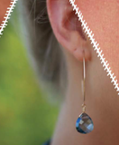 earrings . classic swarovski
