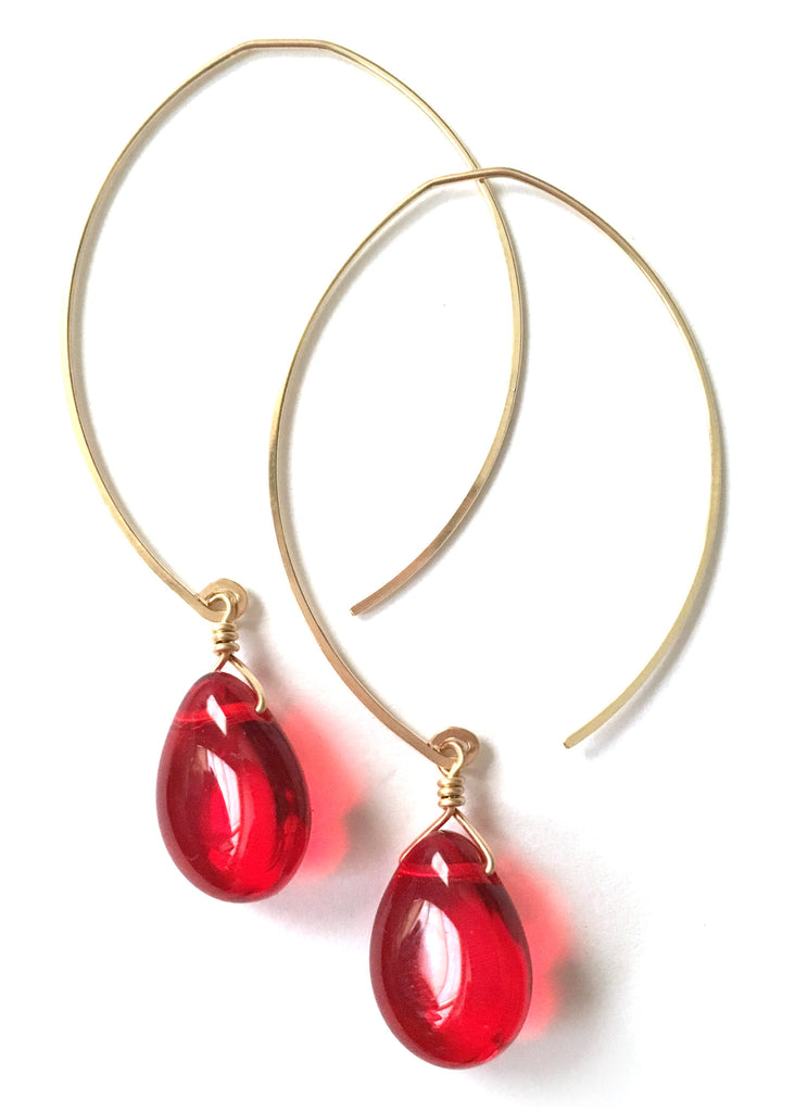 limited edition . earring . cherry drops