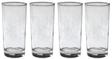 glassware birch trees talls