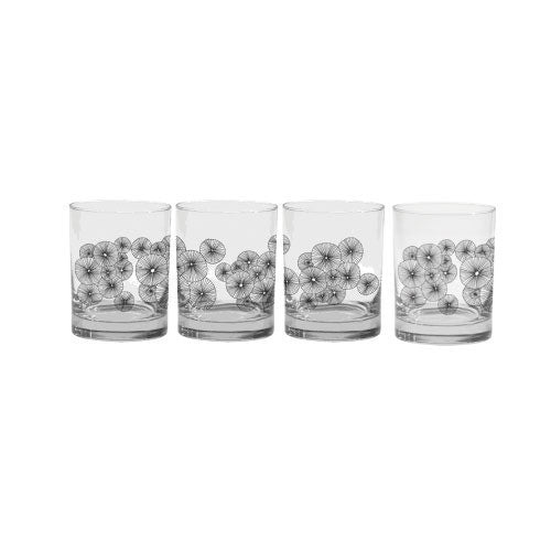 glassware frosted urchin rocks