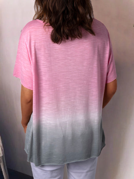 Cotton-Blend Casual T-Shirts