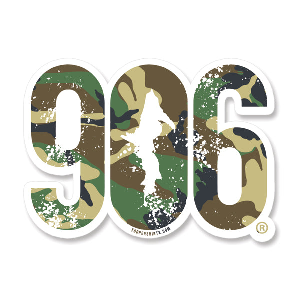 "Sticker - ""906"" Window Decal 7"""