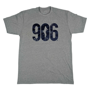 """906"" Heather Grey T-Shirt"