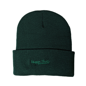 "Beanie - ""906 Patch"" Forest 12"" Beanie"