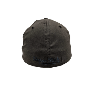 "Hat - ""906 Pines"" Dark Grey FlexFit Structured Cap"