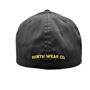 "Hat - ""Arrowhead Tree"" Black Flexfit Structured Cap"