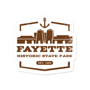 "Sticker - ""Fayette"" 3"" Window Decals"