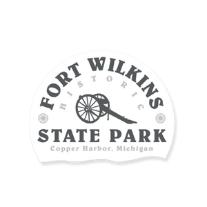 "Sticker - ""Fort Wilkins"" 3"" Window Decals"