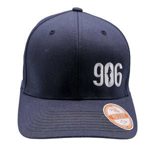 "Hat - ""906"" Dark Navy FlexFit Structured Cap"