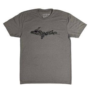 """YOOPER ICON"" Stone Grey T-Shirt"