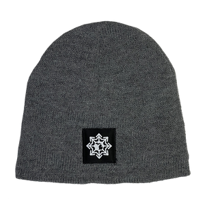 "Beanie - ""Michigan Snowflake"" Athletic Oxford Fleece-Lined Beanie"