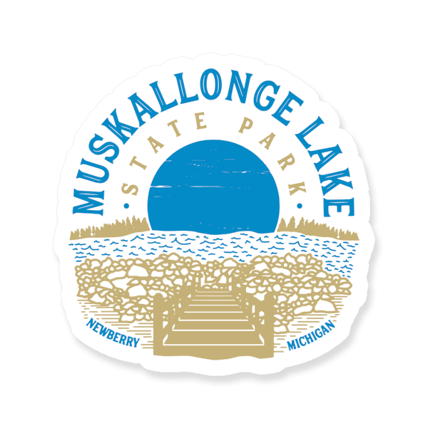 "Sticker - ""Muskallonge"" 3"" Window Decals"