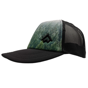 "Hat - ""NWCo. (Icon)"" 3D PUFF Forest Snapback Trucker Hat"