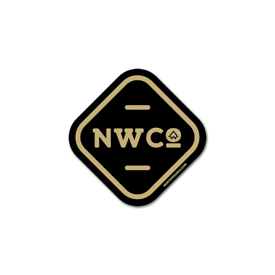 "Sticker - ""NWCo. Badge Icon"" 2"" Window Decal"