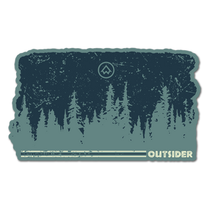 "Sticker - ""OUTSIDER"" 4"" Window Decal"