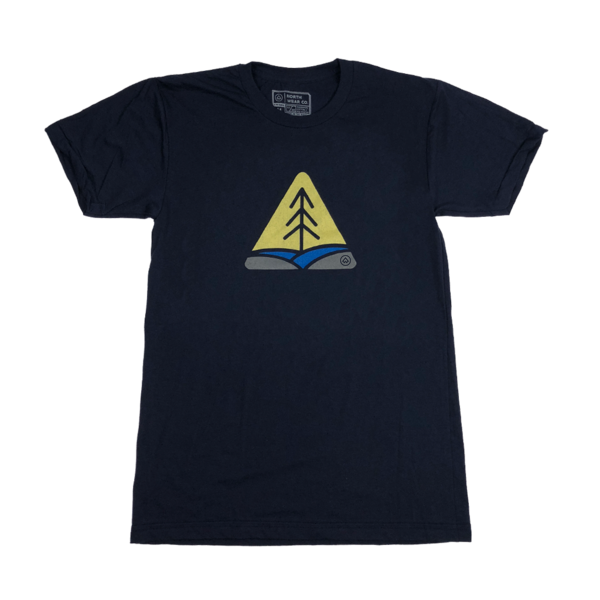 """Yellow Dog"" Navy T-Shirt"