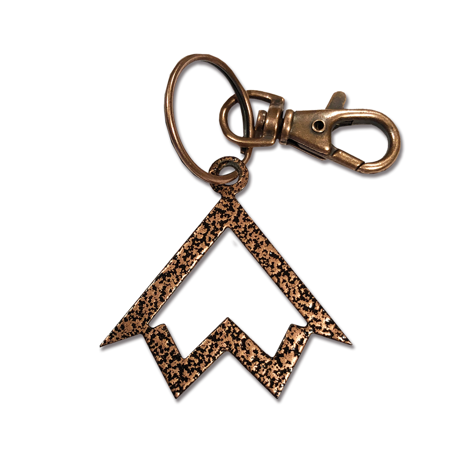 """North Wear Co. (Icon)"" Copper Metal Keychain"