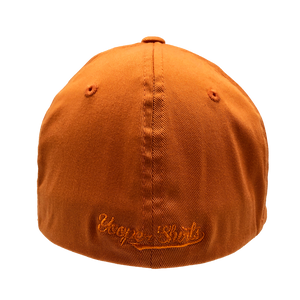 "Hat - ""906"" Orange FlexFit Structured Cap"