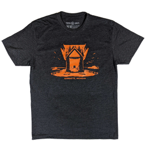 """ORE DOCK"" Heather Charcoal T-Shirt"