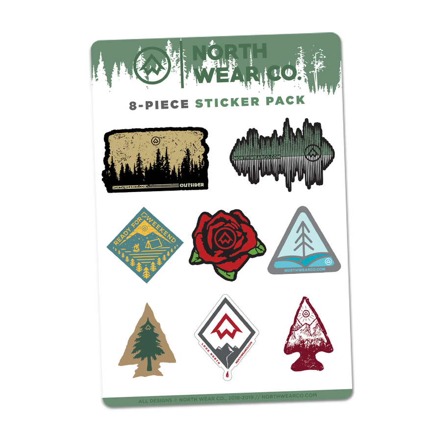 "Sticker Pack - ""NWCo. Sticker Pack"""