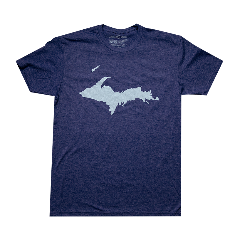 """U.P. Silhouette (Islands)"" Storm T-Shirt"