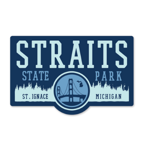 "Sticker - ""Straits"" 4"" Window Decals"