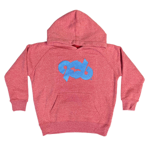 "TODDLER - ""906 Edge"" Pomegranate Special Blend Raglan Hoodie"