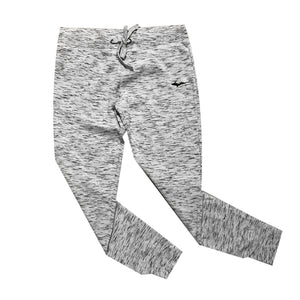 """U.P. Silhouette"" White Fleece Women's Joggers"