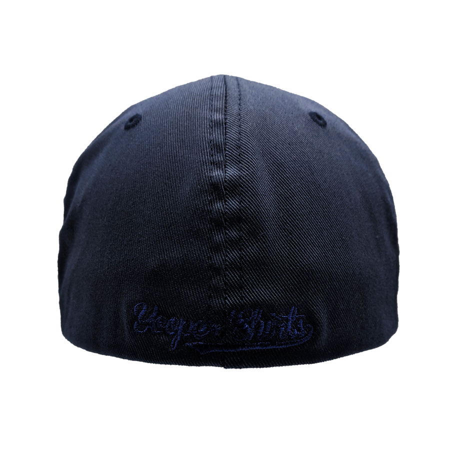 "Hat - ""U.P. AMERICA"" Dark Navy FlexFit Structured Cap"