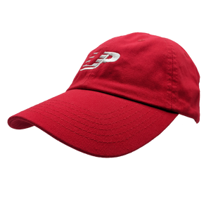 "Hat - ""UPright"" Red Classic Dad's Cap"