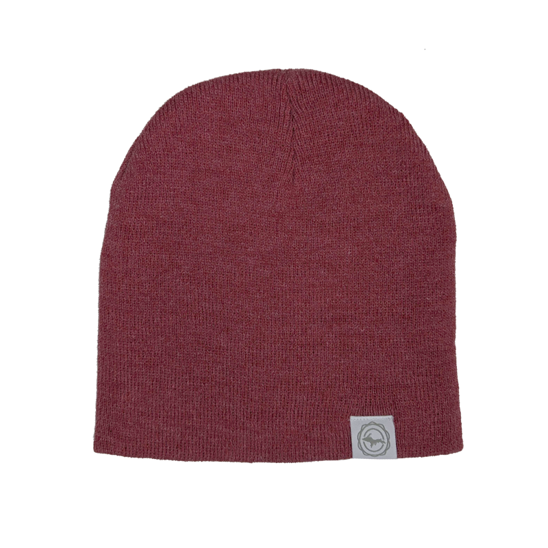 "Beanie - ""U.P. Seal"" Heather Red 8"" Beanie"