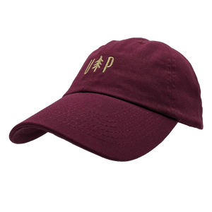 "Hat - ""UP Tree"" Maroon Classic Dad's Cap"