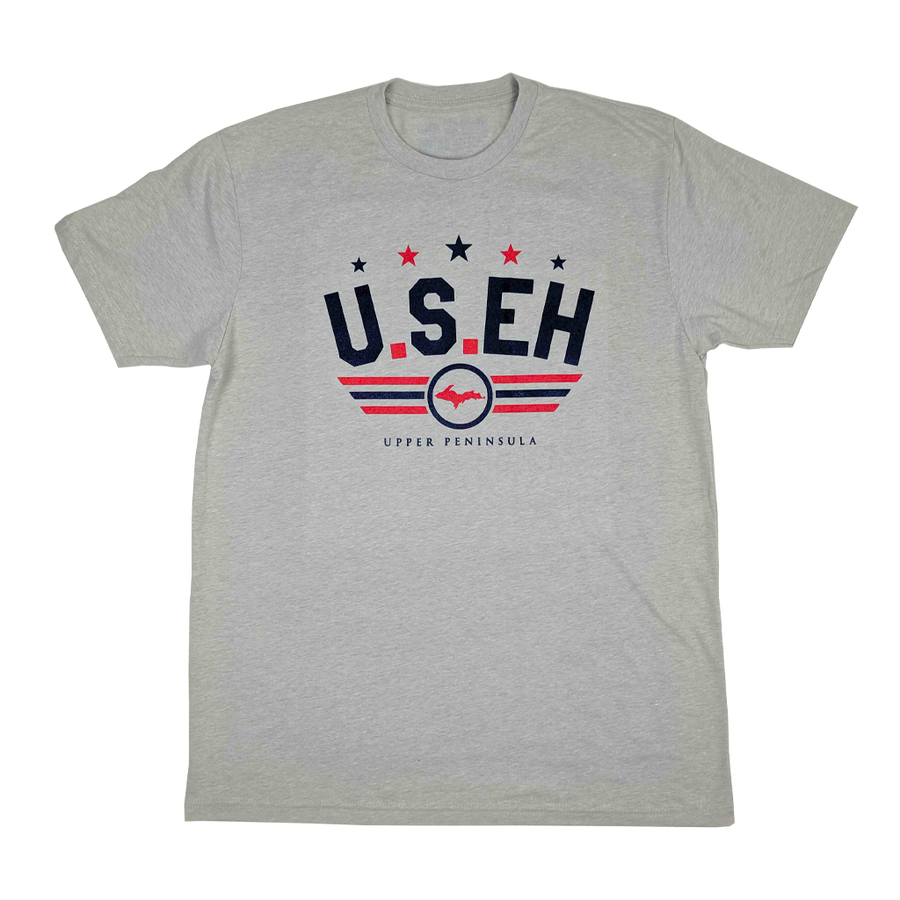 """U.S.EH"" Silk T-Shirt"