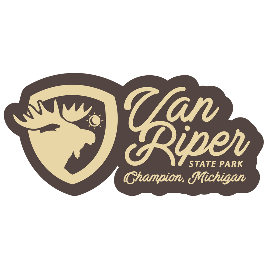 "Sticker - ""Van Riper"" 6"" Window Decals"