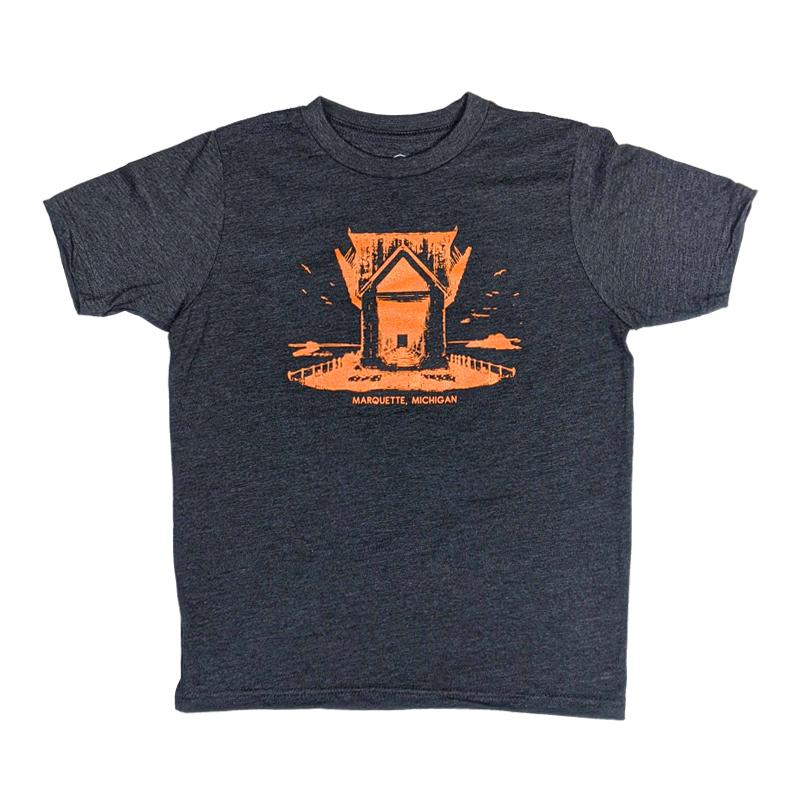 "YOUTH - ""ORE DOCK"" Heather Charcoal T-Shirt"