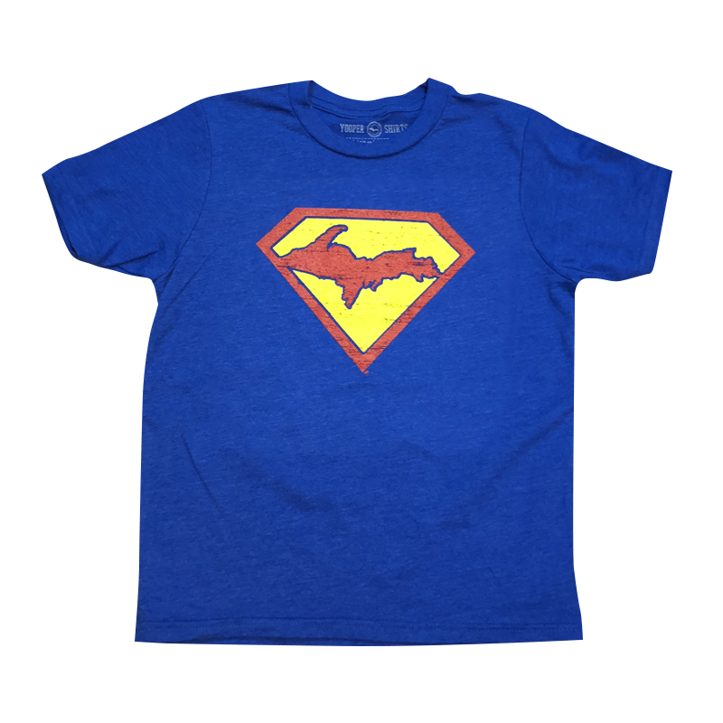 "YOUTH - ""SUPER YOOPER"" Royal Blue T-Shirt"