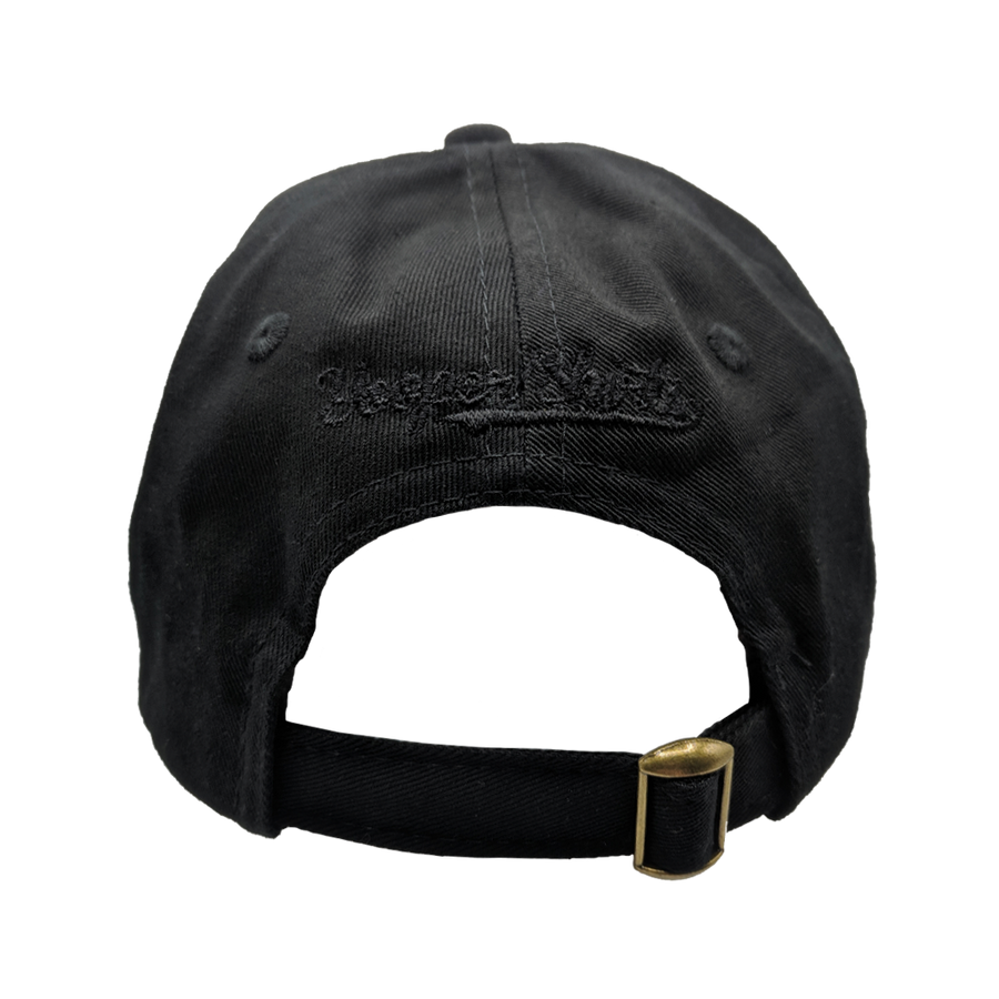 "YOUTH Hat - ""U.P. Silhouette"" Black Unstructured Youth Cap"