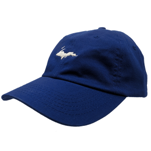 "YOUTH Hat - ""U.P. Silhouette"" Royal Unstructured Youth Cap"