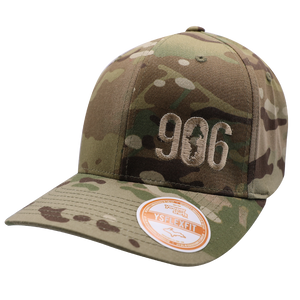 "Hat - ""906"" Multicam Green FlexFit Structured Cap"