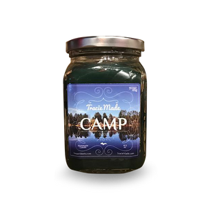 "Candle - ""CAMP"" 10.5 oz. Candle"