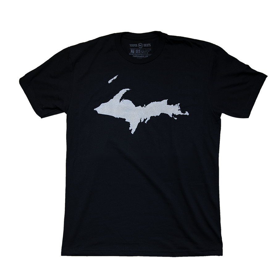 """U.P. Silhouette (Islands)"" Black T-Shirt"