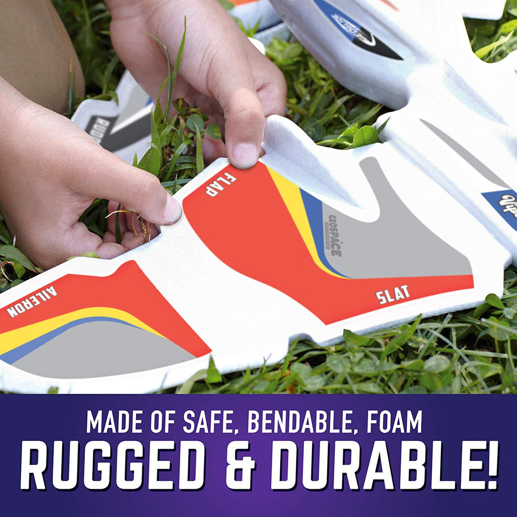 GeoGlide Dueling Dual Fighters Glider Set to Build 2 Large