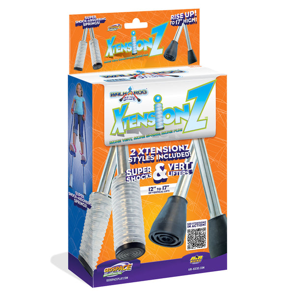 Walkaroo Stilts 4-Piece Xtensionz Set: Includes Super Shocks & Vert Lifters