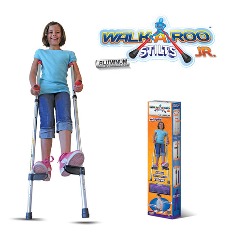 Walkaroo JR Lightweight Stilts with Ergonomic Design by Air Kicks (Aluminum)