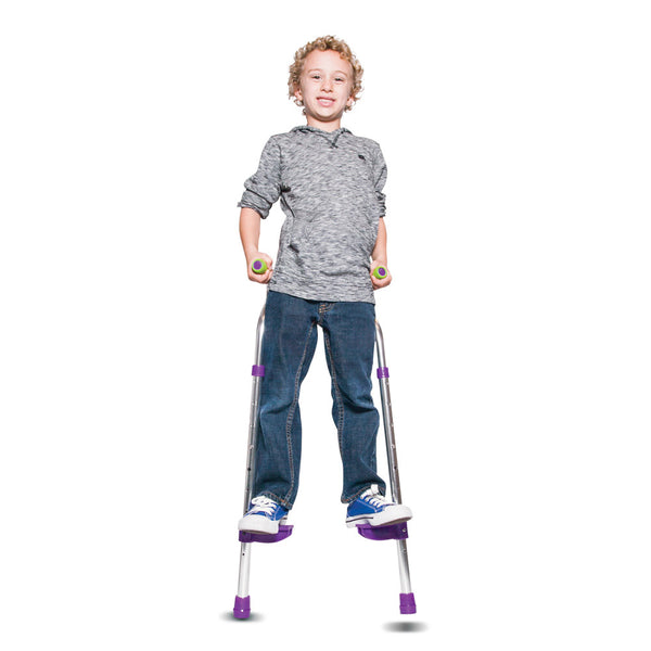 Walkaroo Wee! Lite (Aluminum) Balance Stilts for Little Kids & Beginners
