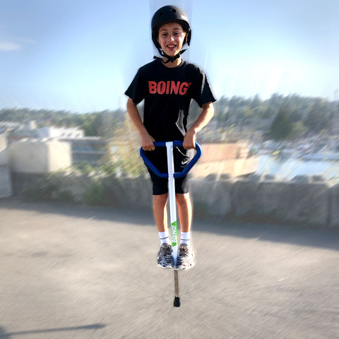 Medium Jumparoo BOING! Pogo Stick for Kids 60-100 Lbs.