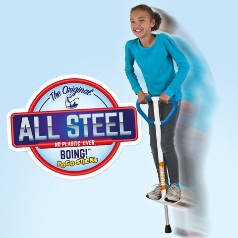 Large Jumparoo BOING! Pogo Stick for Riders 90-160 lbs